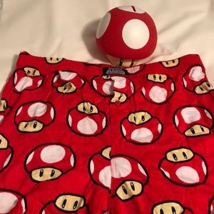 Other - Lot of men's Mario toad stool sleep boxer large xl